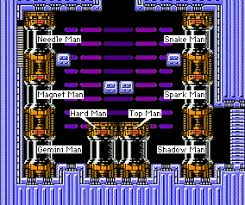 Mega Man 3 Damage Chart Mega Man 3 Boss Order Weaknesses Chart