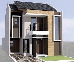 12 desain rumah minimalis modern 2 lantai mewah