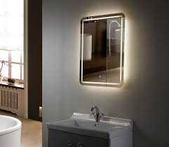 Bathroom Lighted Mirrors Wall Mounted Sink Cabinet With