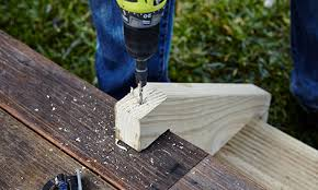 how to build outdoor steps