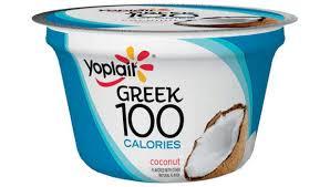 yoplait greek 100 coconut