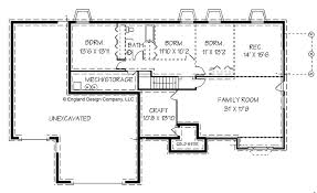 neoteric design ranch house plans with basement house plans