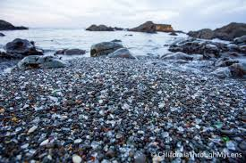 glass beach in fort bragg how to see this unique beach