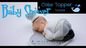 How To Make Fondant Baby Boy Chef Cake Topperbaby Shower Cake