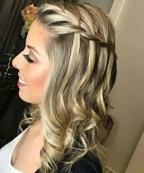 Astonishing Waterfall Braded Prom Hairstyles 2019 For Your Exclusive