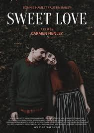 Romantic Movie Poster Custom Love Movie Poster Design Template Template Fotojet