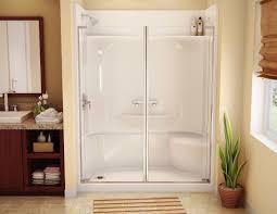fiberglass shower enclosure with glass door fiberglass shower inside fiberglass bathroom doors