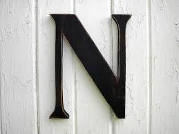letter n wall decor