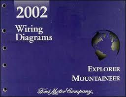 ford explorer mercury mountaineer wiring diagram manual original
