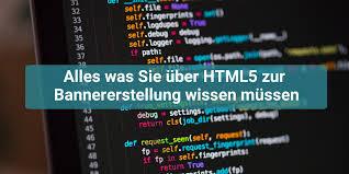Alles was Sie über HTML5 zur Bannererstellung wissen müssen
