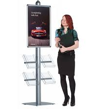 Display Stands For Pictures Poster display stand Leaflet holders Discount Displays 29