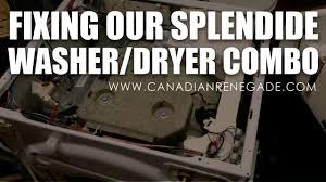 fixing splendide washer dryer combo youtube Automotive Wiring Diagrams at Splendid 2100 Wiring Diagram