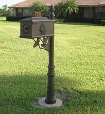 Decorative Mail Boxes Decorative Mailbox Custom Mailbox OnSight Signs 7