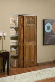 Image of a door using Johnson's 2200F Sliding Bypass Door Hardware