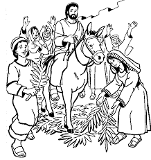 Small Picture Elegant Palm Sunday Coloring Page 45 For Free Colouring Pages with