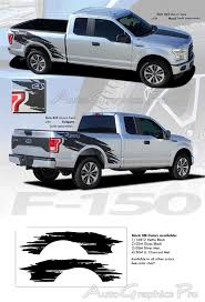 Details About Mudslinger Rear Torn Truck Bed Vinyl Graphic Decals Stripes 2015 2017 Ford F 150