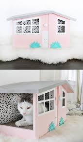 Cat Playhouse Designs Cool Cat Houses For Modern Felines Made Of Sundays