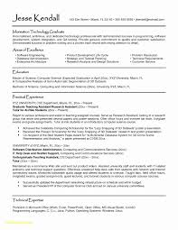 Resume Templates For Graduate Students Unique 13 Unique S Resume