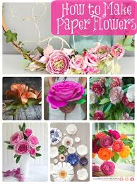 diy wedding paper flower chandelier awesome 105 best how to make paper flowers paper crafts images