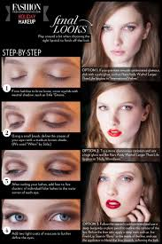 holiday makeup tutorial oxblood lip step by step