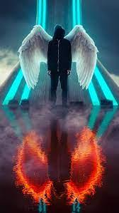 Angel wallpaper, Smoke wallpaper