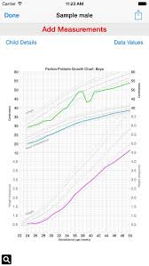 Fenton Preterm Growth Chart Girl Preterm Growth Chart 1 4 Free Download
