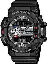 "smart watches men s ladies bluetooth watches watch shop comâ""¢ mens casio g shock g mix bluetooth hybrid smartwatch alarm chronograph watch gba"