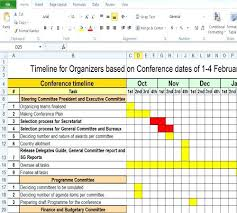 It Timeline Spreadsheet Template Project Excel Free Download Sample ...