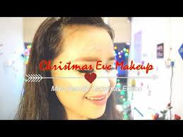tutorial edisi natal makeup malam natal miss beautify