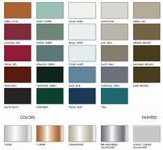 17 High Quality Dark Bronze Color Chart