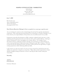 Best Ideas Of Cover Letter For Marketing Job Example Also Sample