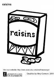 Coloring Page Raisins Img 5892