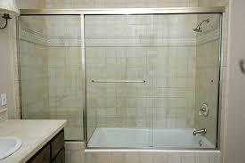 frameless sliding shower doors without bottom track