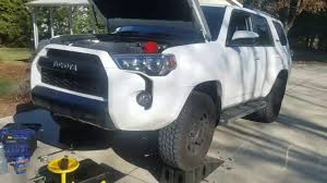 4Runner TRD Pro - How to change the oil, filter and reset ...