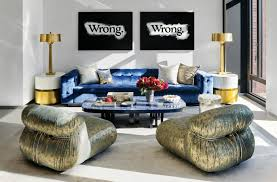 Interior Design Nyc Uptown Glamour Meets Downtown Nyc A Bold Interior Design