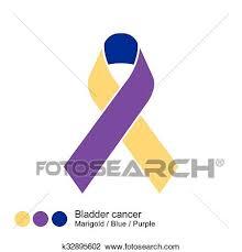 Bladder Cancer Ribbon Vector Clipart K32895602 Fotosearch