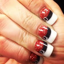 Easy Christmas Designs For Your Nails 25 Most Beautiful And Elegant Christmas Nail Designs