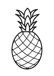 7 Pineapple Lineart Pumpkin Carving Stencil For Free Download On