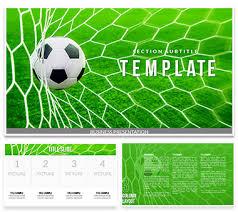 Soccer Ball Football Gates Powerpoint Templates Imaginelayout Com