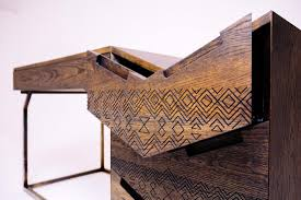 contemporary african furniture. Contemporary African Furniture Design - Mvelo Desk By Siyanda Mbele E