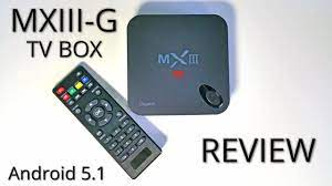 MXIII-G TV Box REVIEW - Amlogic S812, 2GB RAM, Android 5.1 - YouTube