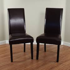 architecture brown parsons chairs attractive home decorators collection dark dining chair set of 2 in