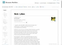 Linkedin Helps Design Smarter Resumes Curriculum Vitae Ibm I