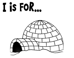 Small Picture Preschool Kids Learning Igloo Coloring Pages Bulk Color
