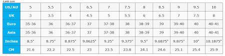shoes size us to euro international shoes chart conversion ilekh
