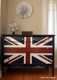 painted furniture union jack autumn vignette. Bringing Navy Blue Into Your Rooms With Furniture Painting · Union Jack Painted Autumn Vignette R