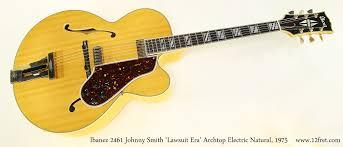 Ibanez 2461 Johnny Smith 'Lawsuit Era' Archtop, 1975 | www.12fret.com