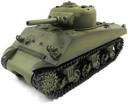 <b>Радиоуправляемый танк Heng Long</b> U.S.M4A3 Sherman (3898-1 ...