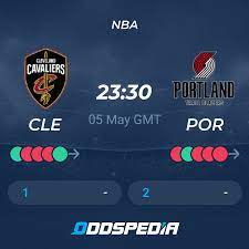 Cleveland Cavaliers - Portland Trail ...