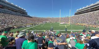 Notre Dame Stadium Section 19 Rateyourseats Com